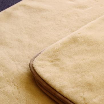 メリノウール敷毛布